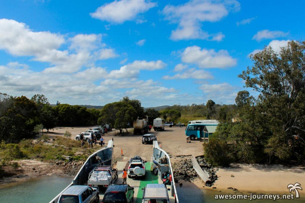 Mit der Fähre nach Fraser Island