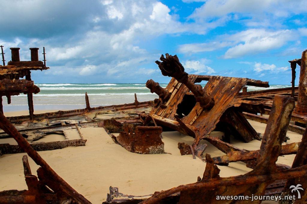 Australien_FraserIsland_MahenoShipwreck_2