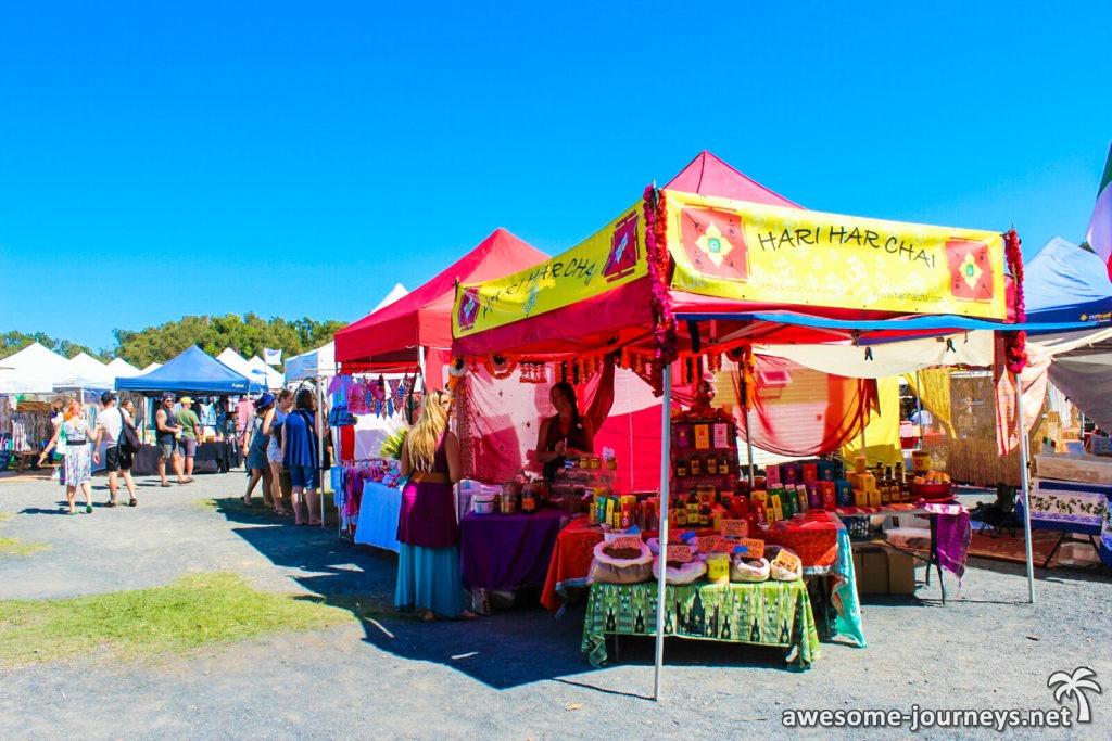 Hippie Markt in Byron Bay