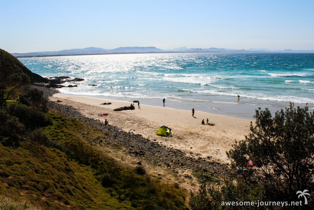 Little Wategos Beach