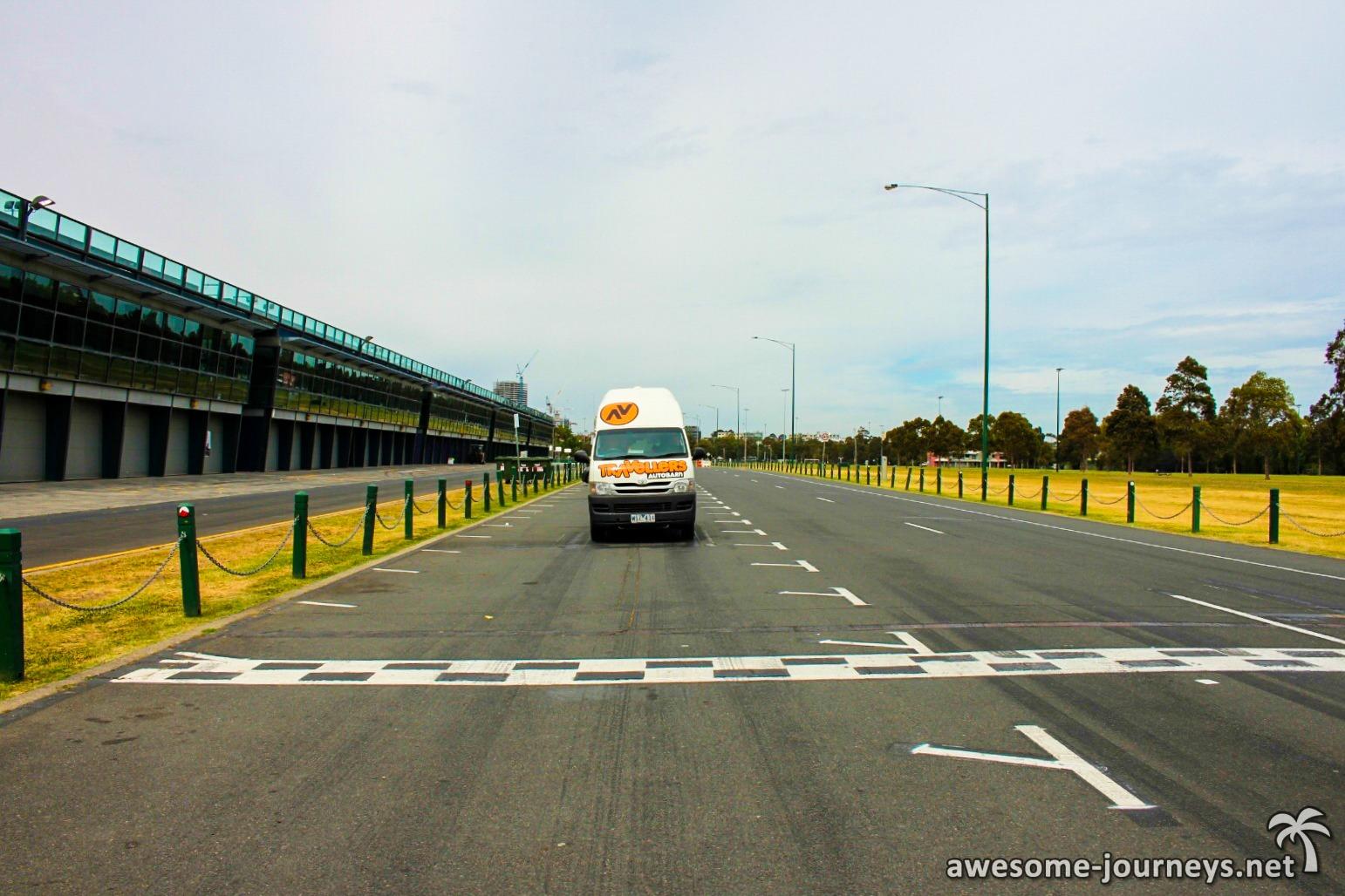 Formel 1 Strecke in Melbourne