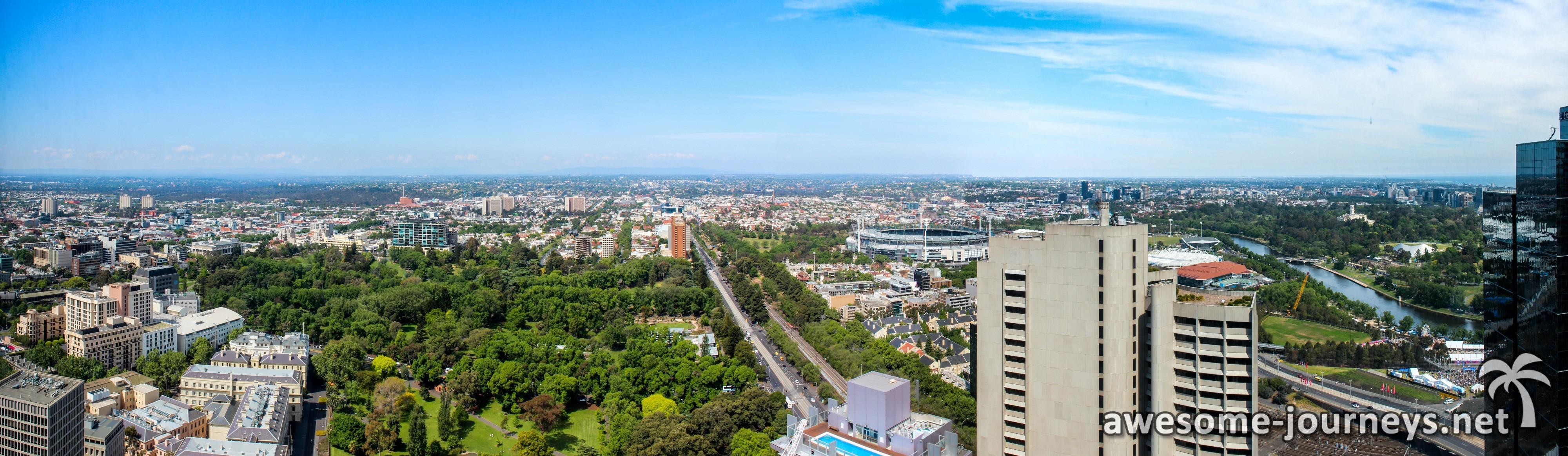 Ausblick von der Toilette vom Sofitel Hotel ;)