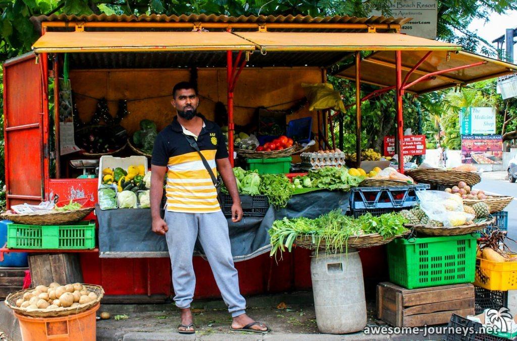 Gemüsehändler - hart aber herzlich ;)
