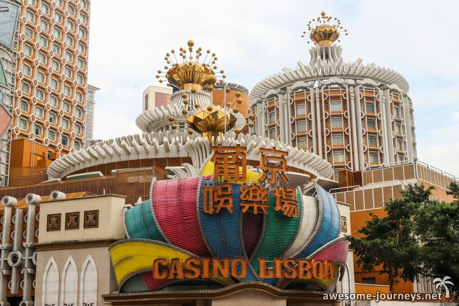 Hongkong Nach Macau