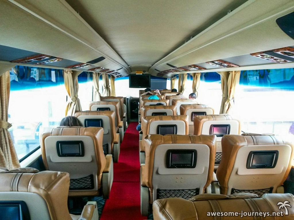 Bus von Aeroline