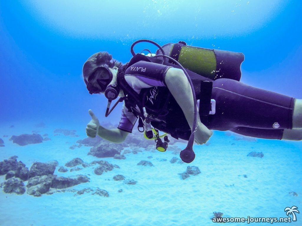 Tauchen am Snake Reef