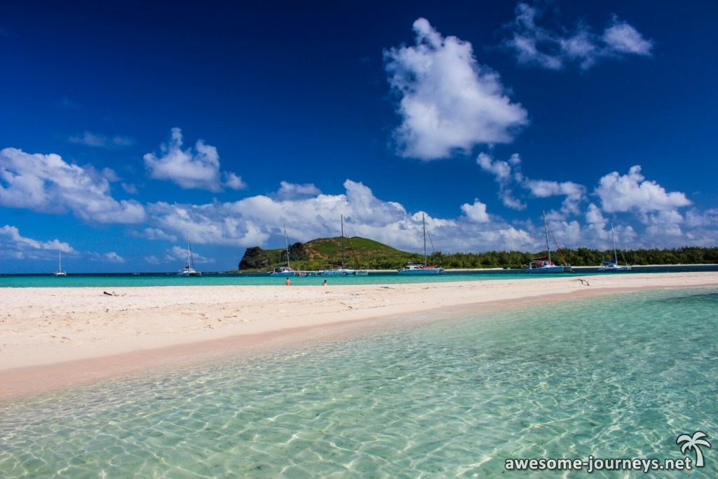 Katamarane auf Gabriel's Island