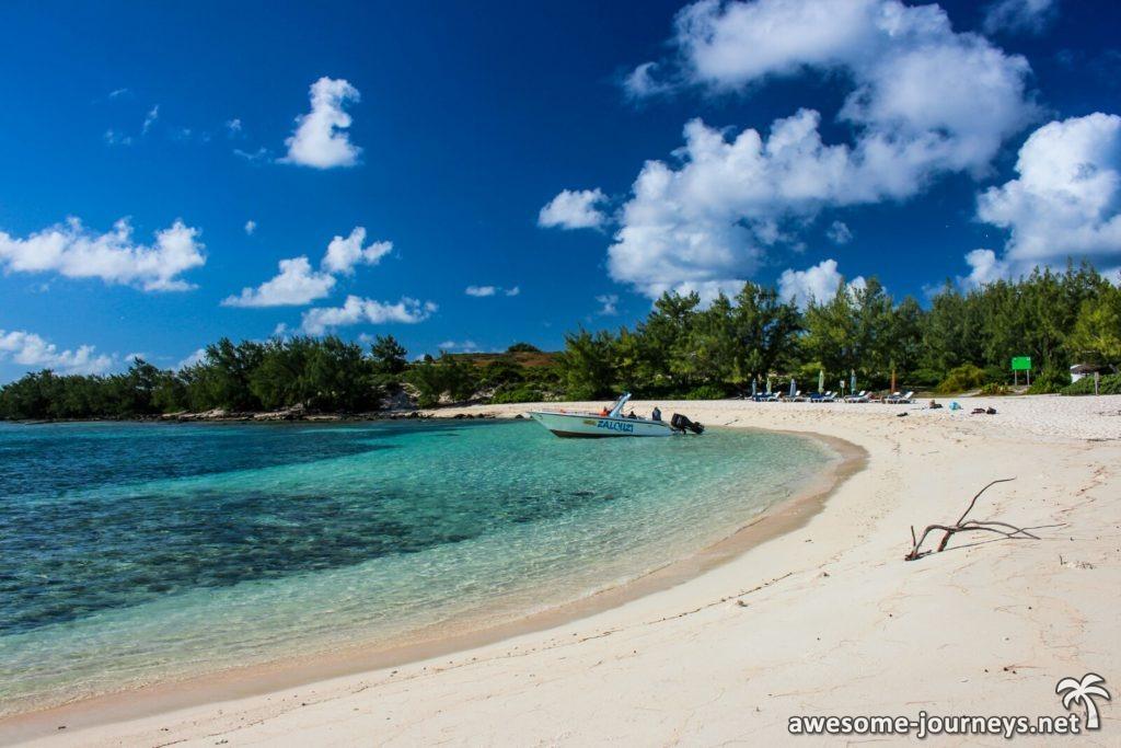 Ankunft auf Gabriel's Island