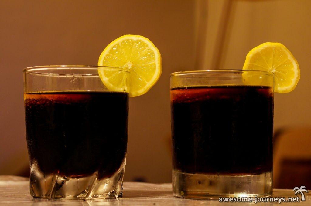 Mauritius Nationalgetränk: Rum mit Cola