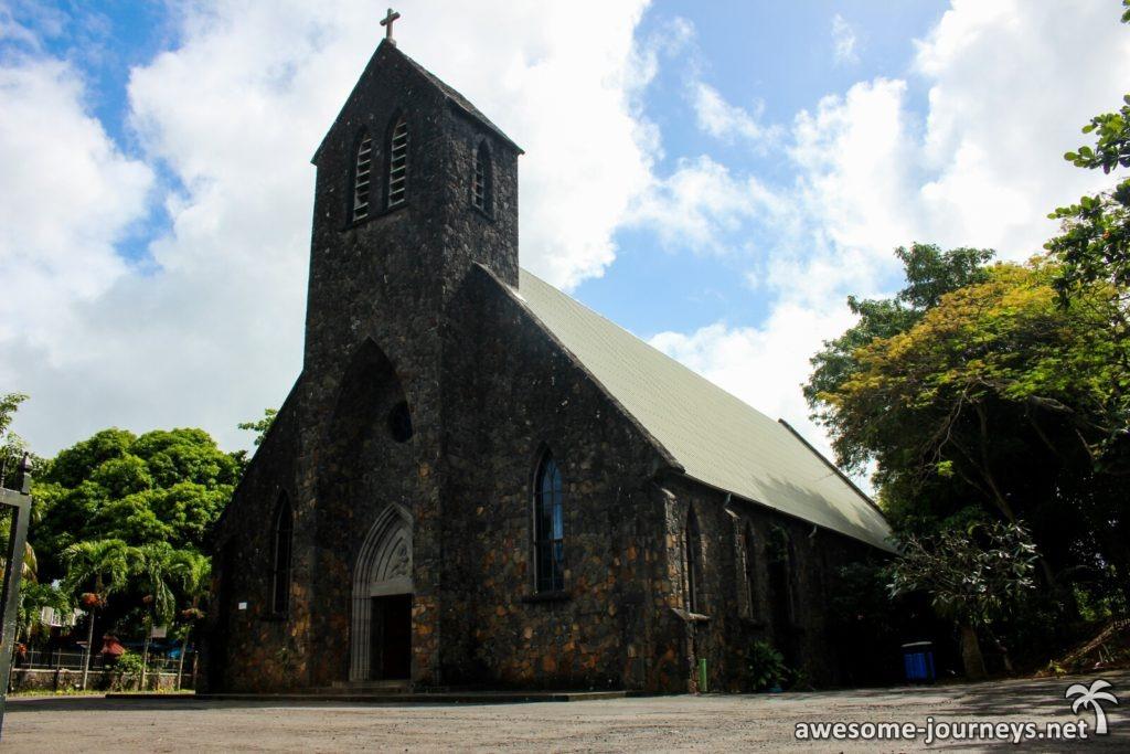 Kirche in Trou d'Eau Douce