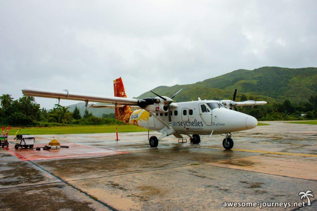 Air Seychelles Propellerflugzeug