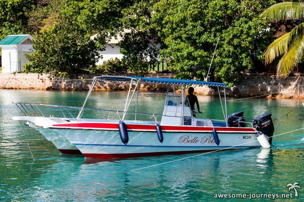 Speedboat von Belle Petra