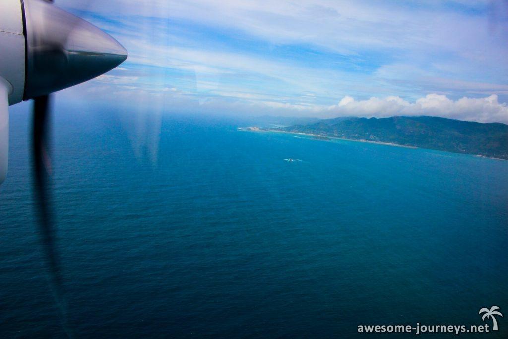Unterwegs von Praslin nach Mahé