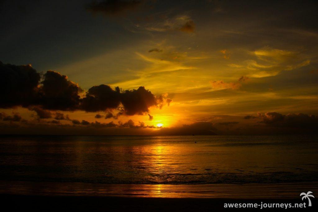 Sunset Beau Vallon