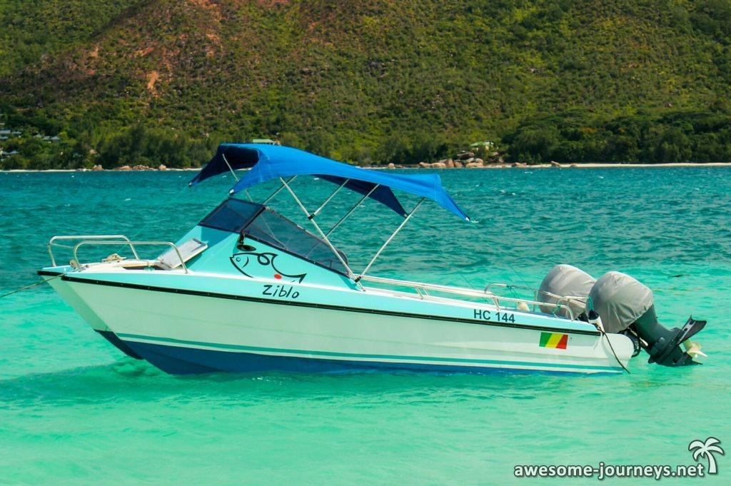 Speedboat von Ziblo Boat Charter