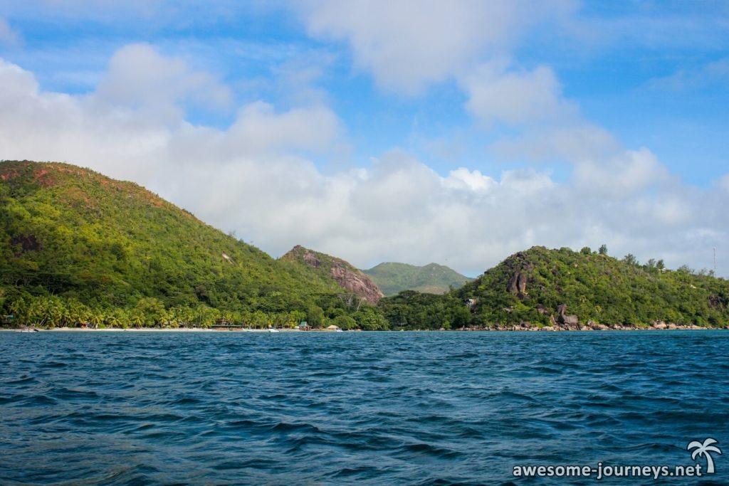 Ankunft auf Curieuse Island