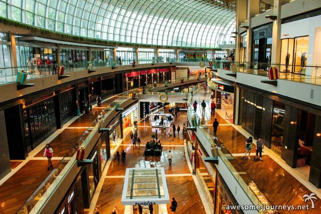 Marina Bay Sands Shoppingcenter