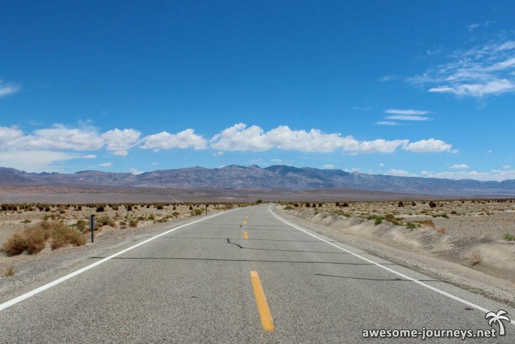 Fahrt durchs Death Valley
