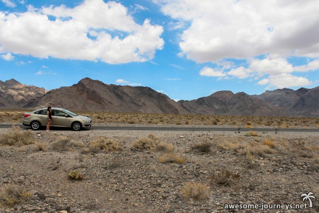 Mitten im Death Valley
