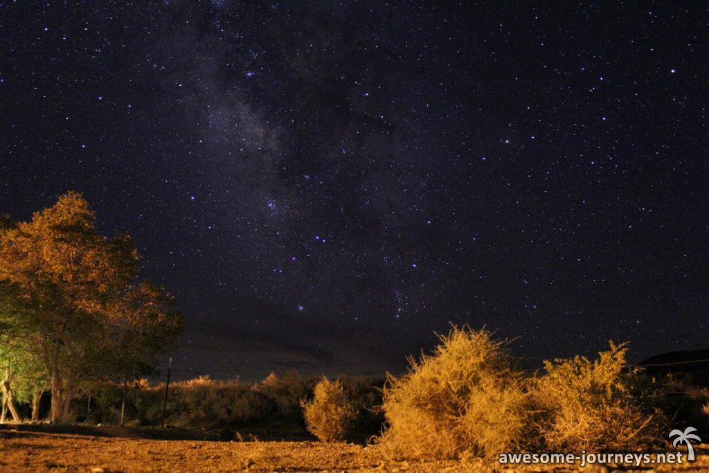 Wunderschöner Sternenhimmel
