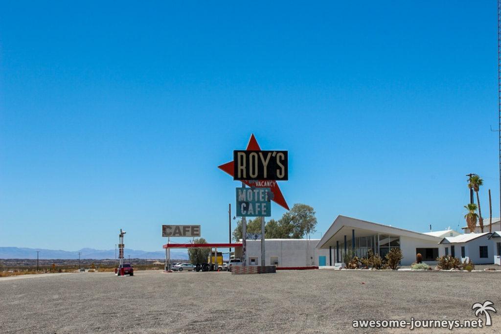 Roy's Cafe auf der Route 66