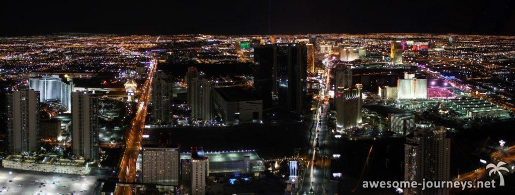 Ausblick vom Stratosphere Tower