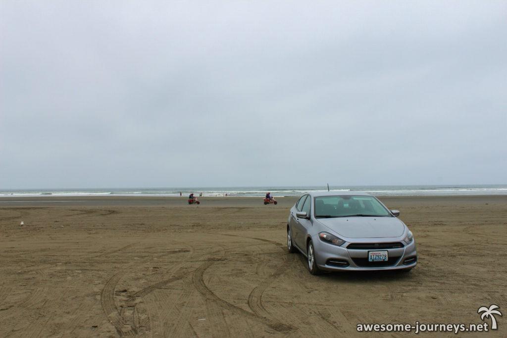 Strand bei Ocean Shores