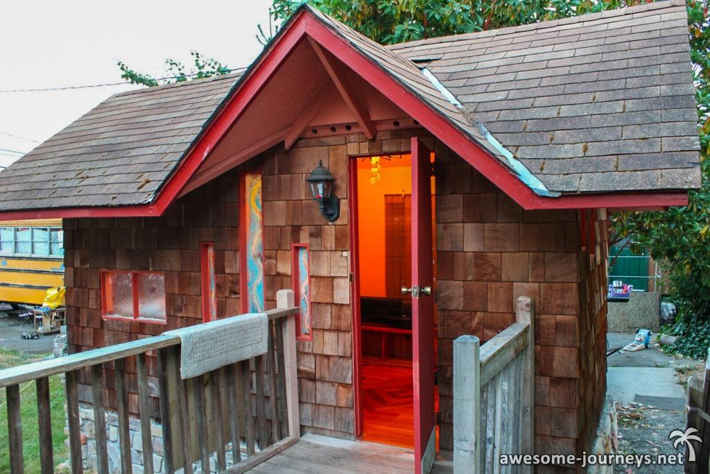 Unsere airbnb Unterkunft in Port Angeles