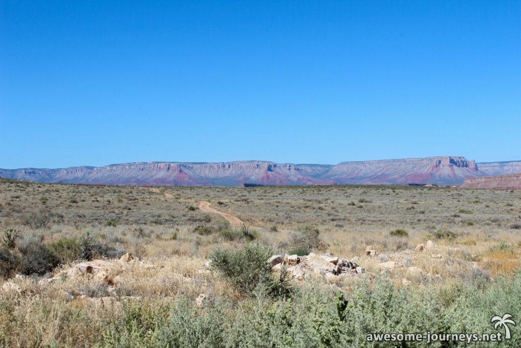 Grand Canyon aus der Ferne